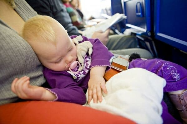 Airline baby ban
