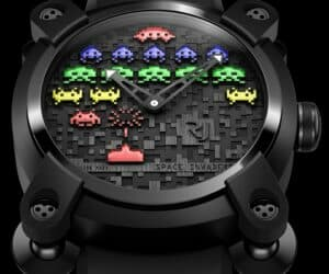 Romain Jerome Space Invaders Watches colours