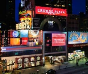 Crowne Plaza in New York Times Square