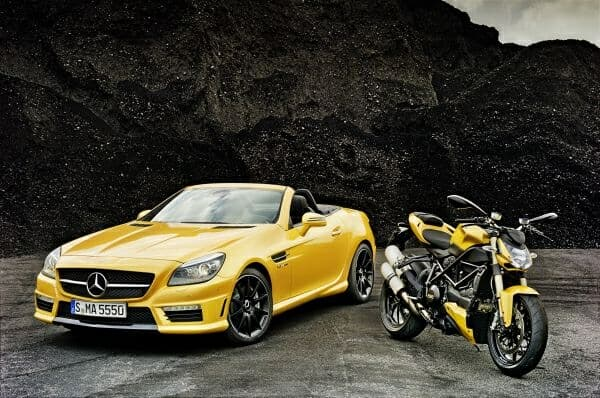 Streetfighter Yellow Mercedes-Benz Ducati