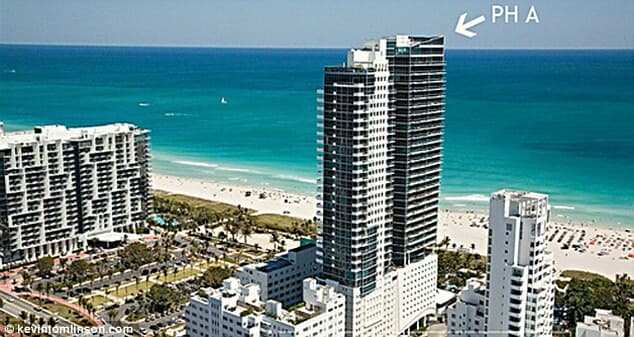 most expensive beach apartment
