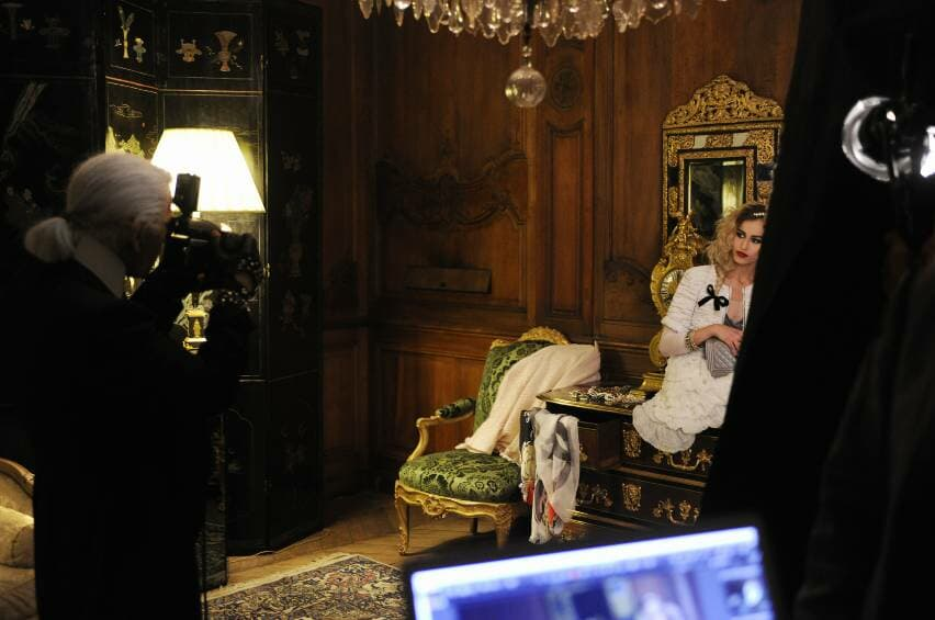 CHANEL MAKING OF BOY ADCAMPAIGN