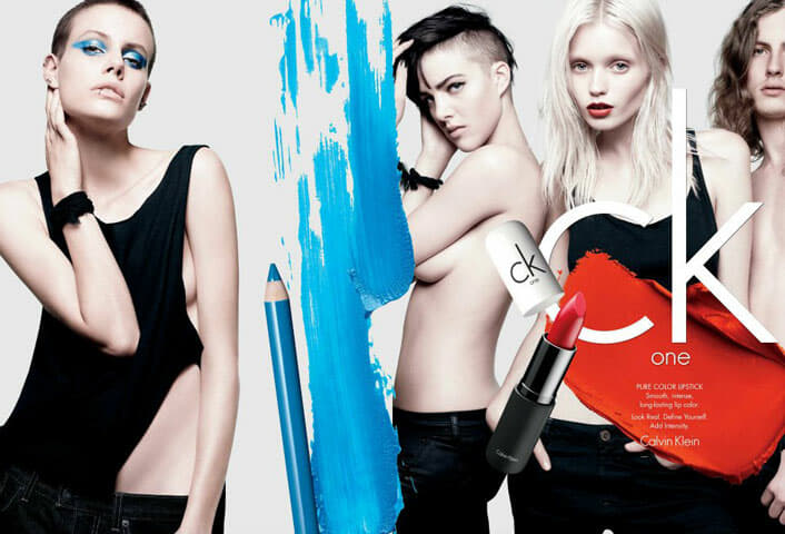 CK One Cosmetics Spring 2012 Campaign