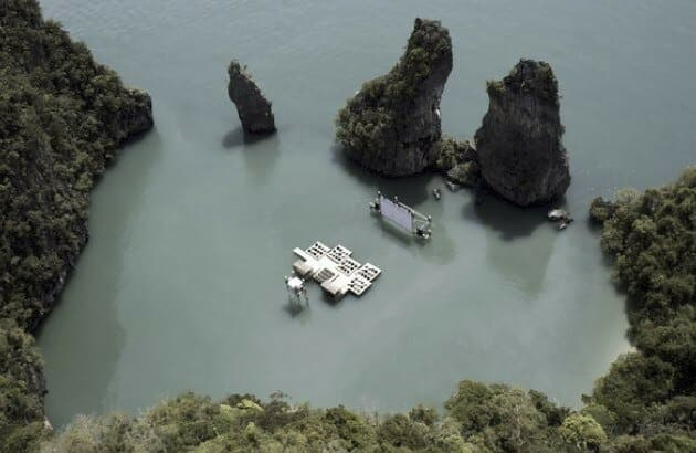 Floating Movie Theater Thailand