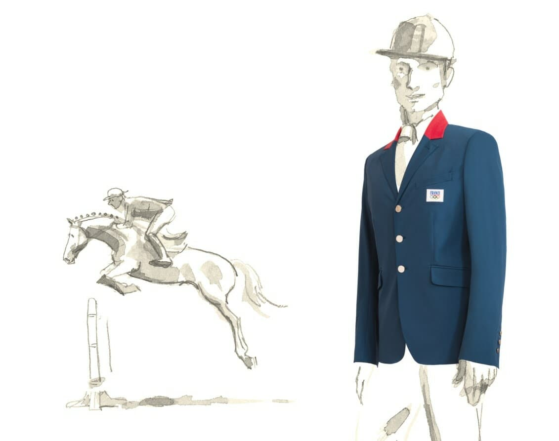 Hermes Olympics French uniforms