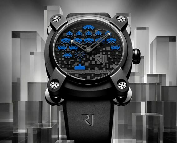 Romain Jerome Space Invaders Colette Watch