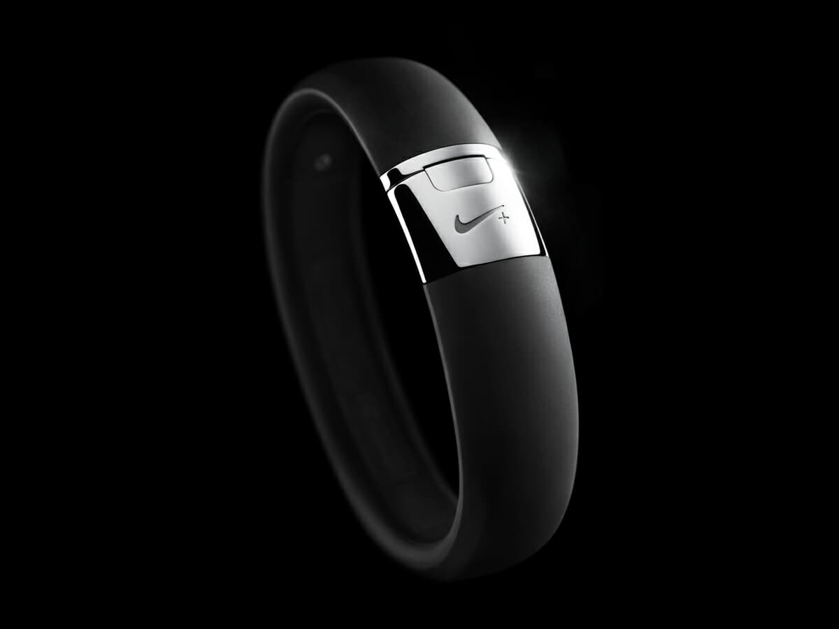 Nike silver FuelBand