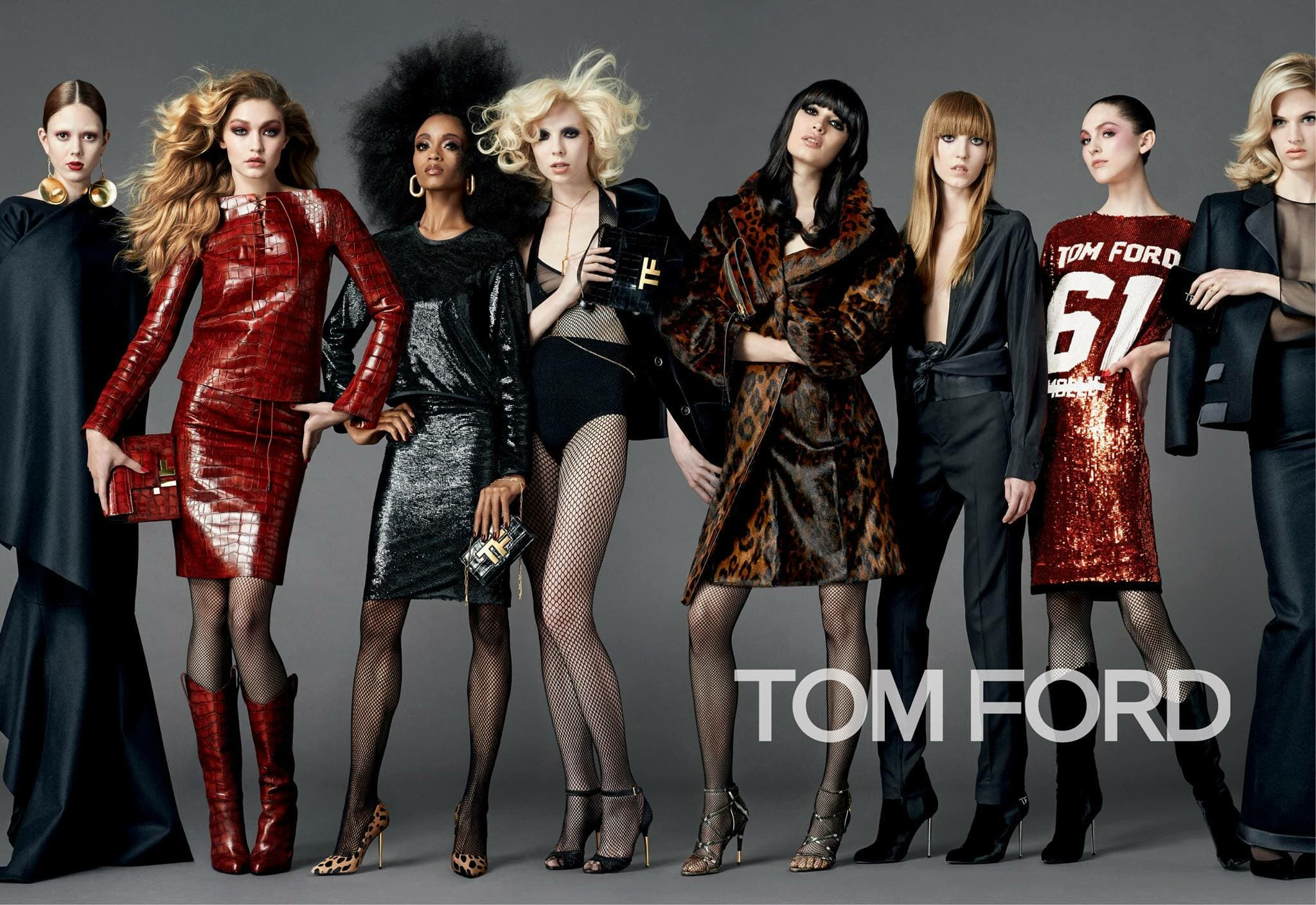 Tom Ford Fall 2014 campaign