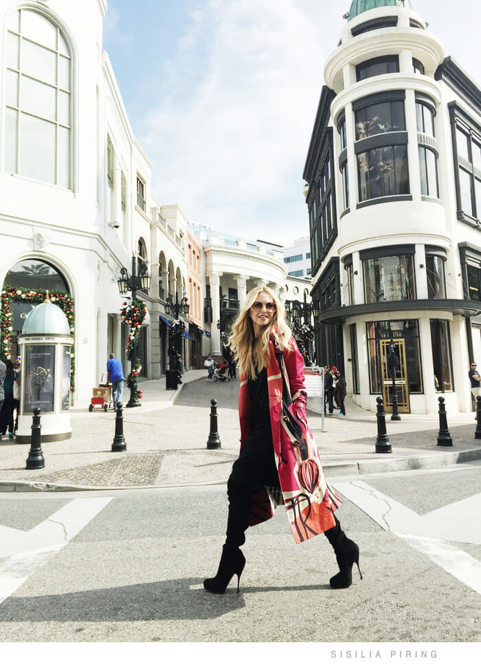 Burberry Art of the Trench in LA