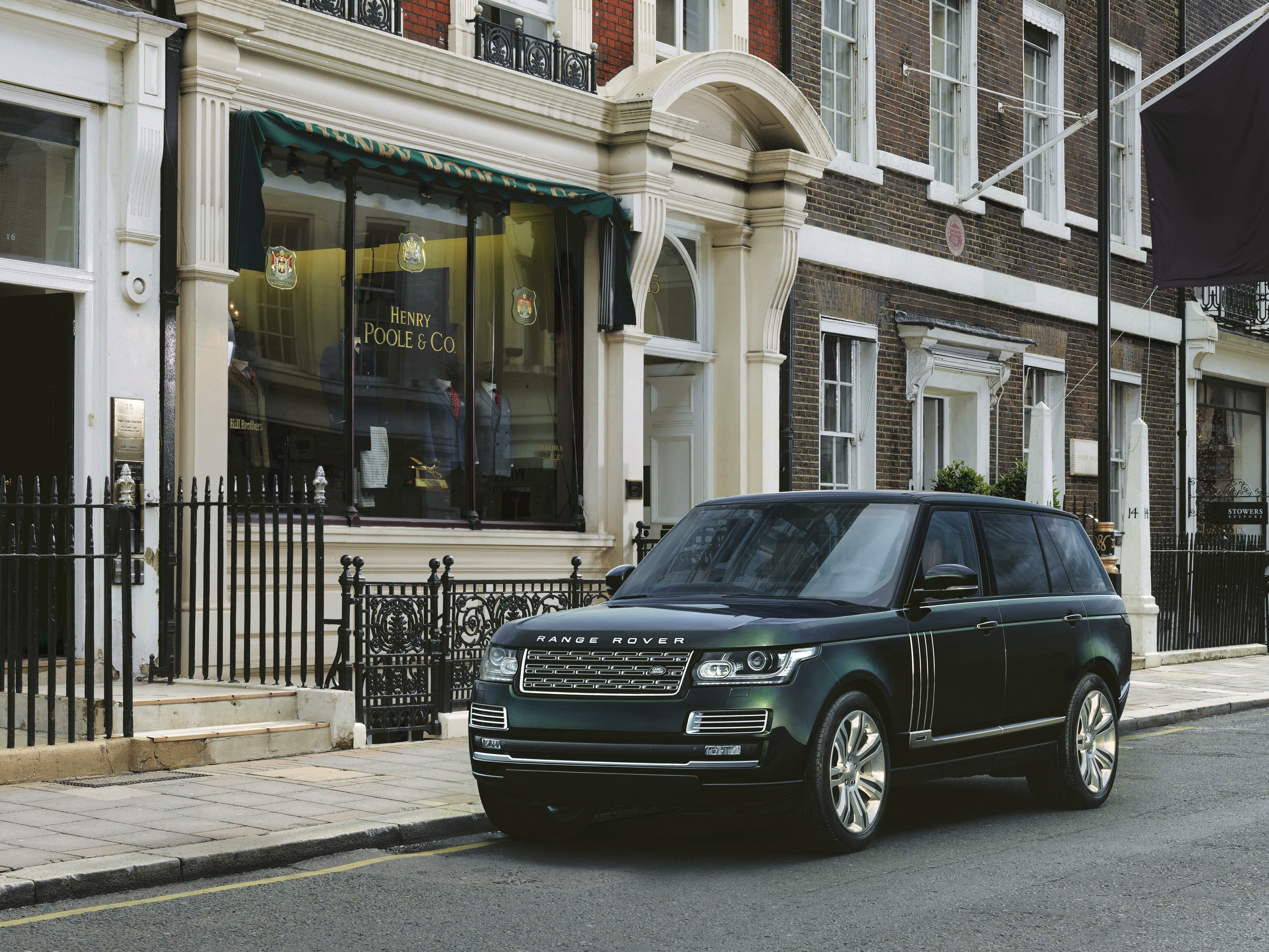 Holland and Holland Range Rover exterior