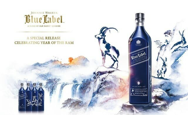 Johnnie Walker Year of the Ram Scotch Whisky