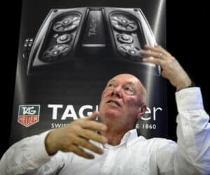 Tag Heuer's CEO