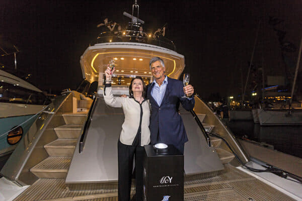 Celebrating Monte Carlo Yachts at the Singapore Yacht Show