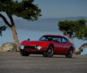 classic cars Japanese models 1967 Toyota 2000GT