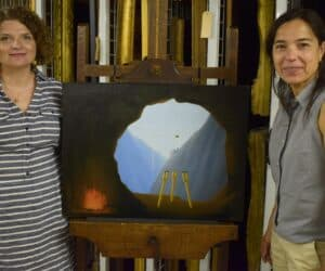 Missing Piece of Magritte Painting Found in UK