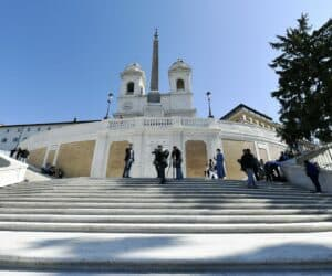 Rome Reopens Spanish Steps After Renovation