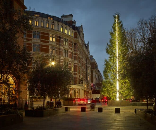Merry Contemporary Christmas: The Connaught, London