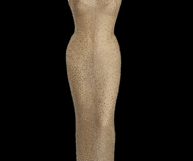 Monroe 'Happy Birthday' Gown Sold for $4.8m