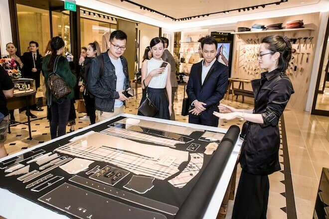 LUXUO Art Republik Burberry Tales Of A Trench Coat exhibition Singapore 6015