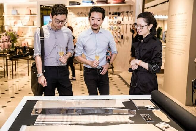 LUXUO Art Republik Burberry Tales Of A Trench Coat exhibition Singapore 6063
