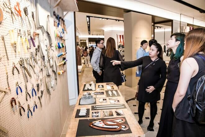 LUXUO Art Republik Burberry Tales Of A Trench Coat exhibition Singapore 6089