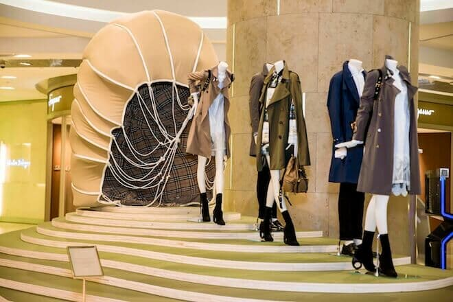LUXUO Art Republik Burberry Tales Of A Trench Coat exhibition Singapore 6129