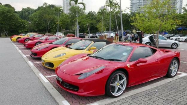Ferrari Owners Club Singapore organises their own get-togethers independent of Ital Auto or Ferrari, it's a strong community