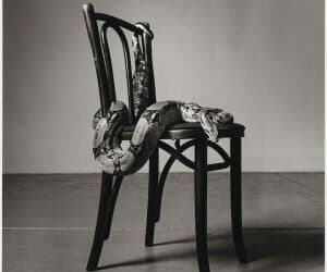 Peter Hujar, 'Skippy on a Chair (I)', 1985. Image courtesy The Peter Hujar Archive, LLC, Pace/MacGill Gallery, New York and Fraenkel Gallery, San Francisco.