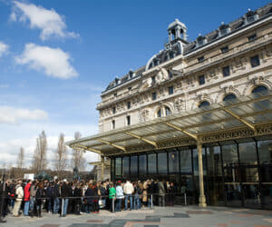 The queue at Musee D'Orsay in Paris, France (Photo credit: AFP / Loic Venance)
