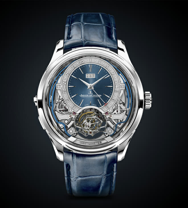 Limited Edition Jaeger-LeCoultre Master Grande Tradition Gyrotourbillon Westminster Perpétuel exemplifies Art of Precision