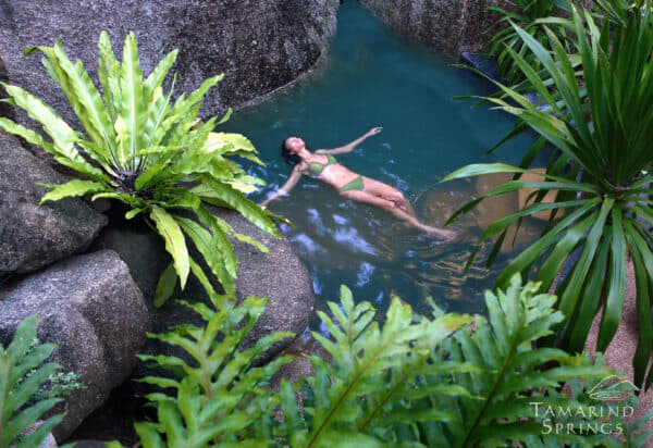 Tamarind Springs at Thong Takian is set in a stunningly verdant jungle setting