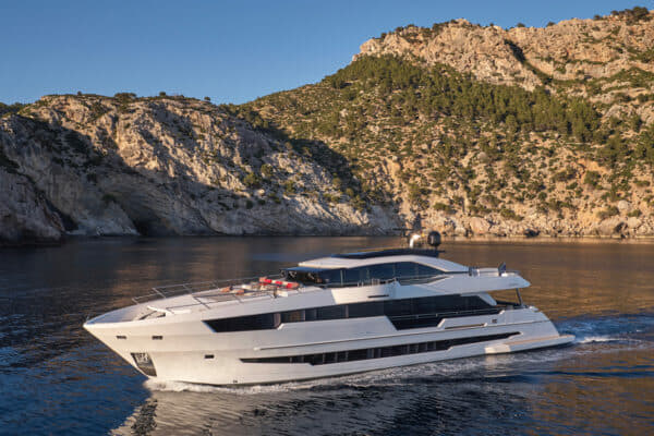 Astondoa's second 110 Century was launched in 2018 and continues the yacht's international focus since its centenary