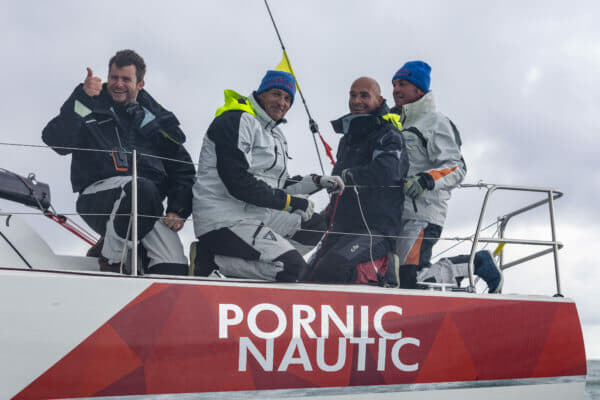 Pornic Nautic beat 22 other yachts to win the Sun Fast 3200 division © Jean-Marie LIOT / Jeanneau
