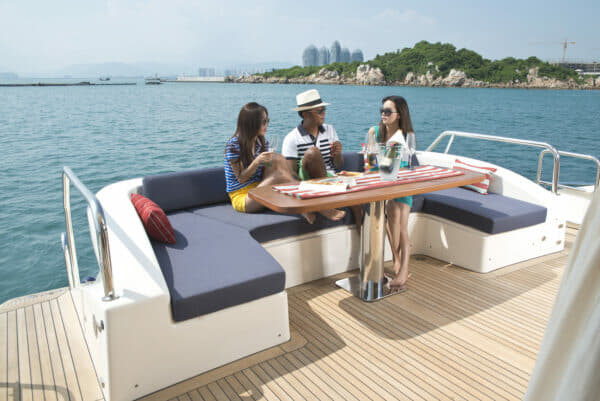 Hainan is popular for yachting within China, but not established as a destination for foreign yachts
