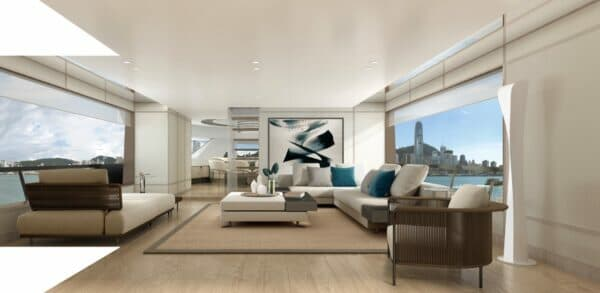 Breeze/Zen is one of two Steve Leung interior design schemes for the SX88