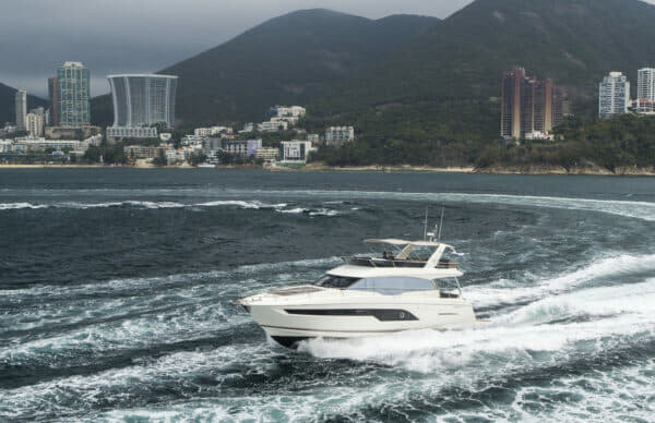 The Prestige 630 will make its Singapore Yacht Show debut