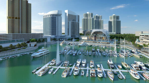 ONE°15 Marina Puteri Harbour Malaysia is expected to open in 2021