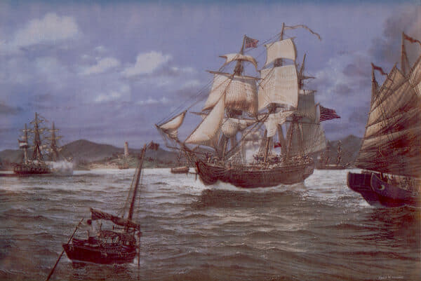 In 1784, the Empress of China became the first American ship to sail for China; Photos: Hong Kong Maritime Museum