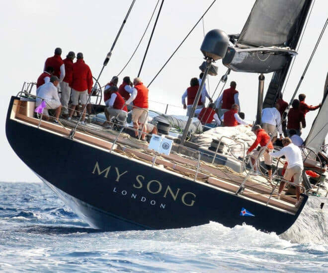The 130ft sailing superyacht My Song by Baltic Yachts, Finland