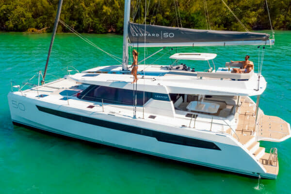 The Leopard 50 from South Africa won Best Multihull Sailing Yacht in Asia (under 15m) at this year's Christofle Yacht Style Awards, having made its Asia premiere in Thailand last July
