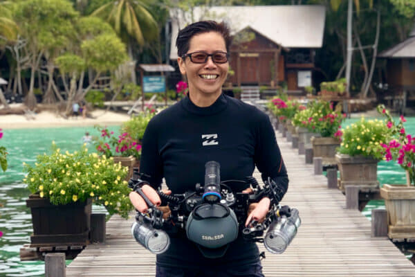 Dr Achier Chung has been lead scientist at the Sugud Islands Marine Conservation Area east of Sabah since 2004