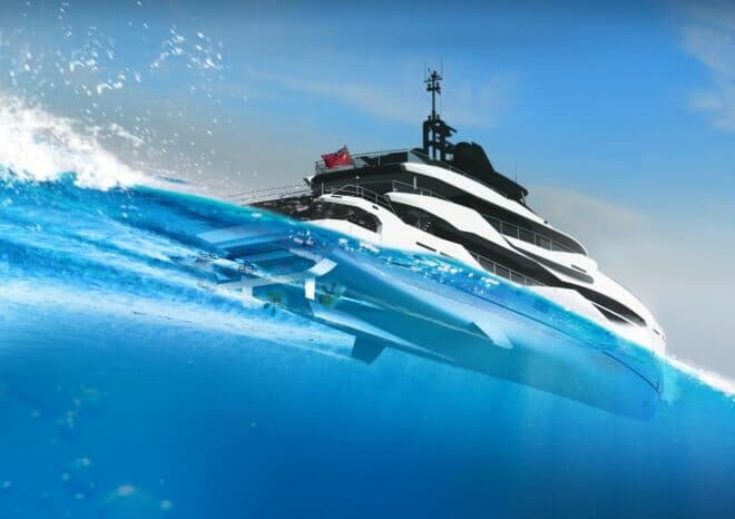 Designed by Van Oossanen Naval Architects, the Fast Displacement Hull Form for the 161 Yacht was recently declared the most efficient round-bilge hull tested by the UK-based Wolfson Unit