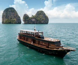 The 90ft Maha Bhetra is one of Yacht Sourcing Thailand's new Central Agency charter listings
