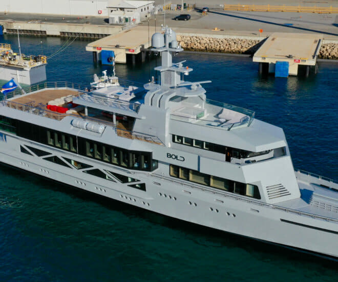 The 85m Bold by SilverYachts