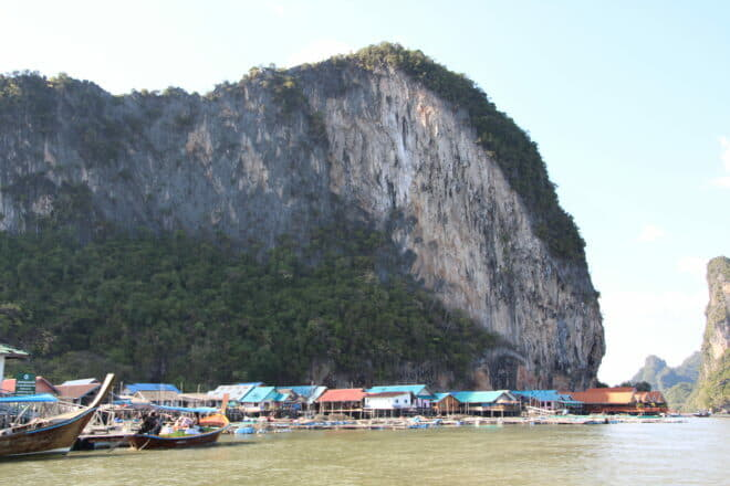 Striking rock formations and floating villages are among the region's visual attractions; Photo: Risa Merl