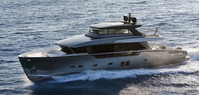 The first Sanlorenzo SX88 into Asia will arrive in Singapore later this year