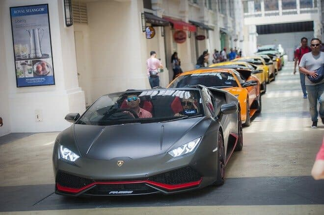 Supercars will again be a major attraction at the Penang RendezVous