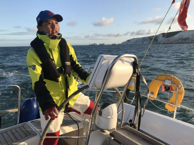In 2014, Vicky Song became the first Chinese to complete a full circumnavigation in the Clipper Round The World Yacht Race