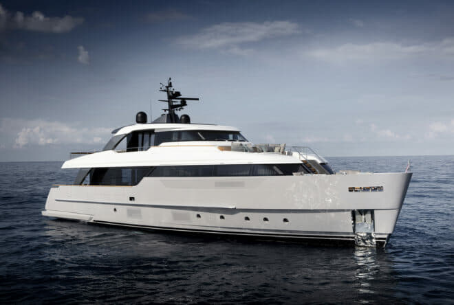 Sanlorenzo's SD96 is the new entry model to the Italian yard's semi-displacement range