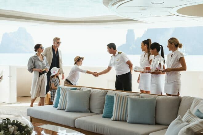 If you charter with a family, ask your broker to ensure that the crew and itinerary are children-friendly